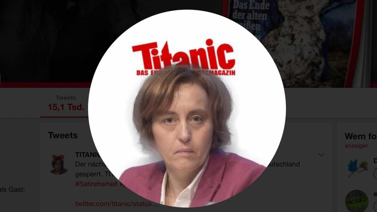 """Twitter sperrt Account der """"Titanic"""" und provoziert Kritik"""