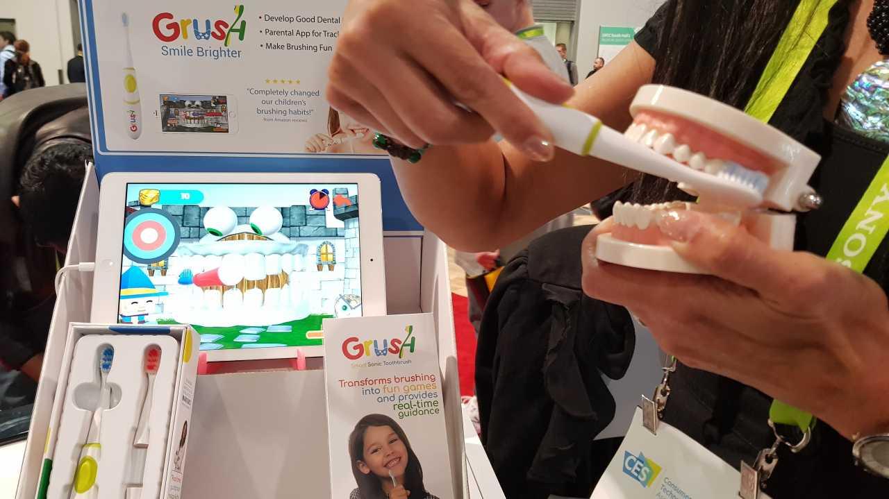 Bluetooth-Zahnbürsten für Kinder