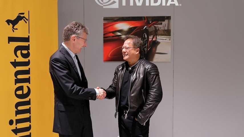 Autonomes Fahren mit Künstlicher Intelligenz: Continental und Nivida werfen ihre Technik zusammen
