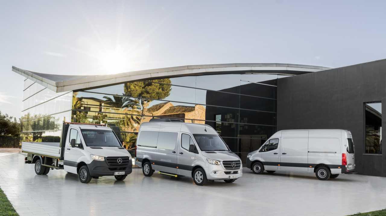 Daimler vernetzt seine Sprinter