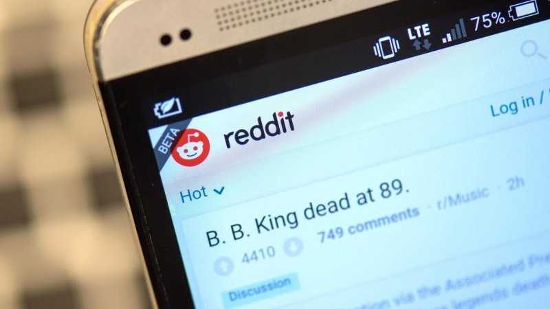 Diskussionswebsite Reddit