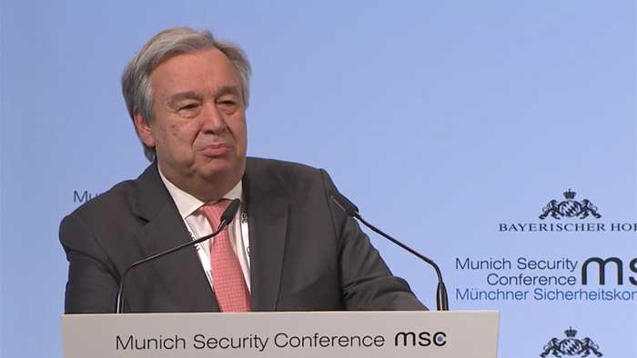 UN-Generalsekretär auf der Münchner Sicherheitskonferenz: Internationales Recht für Cyberspace muss geklärt werden