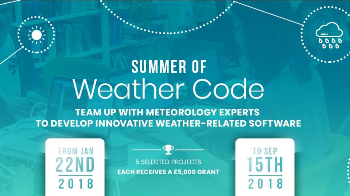 Programmierwettbewerb: ECMWF lädt zum Summer of Weather Code ein
