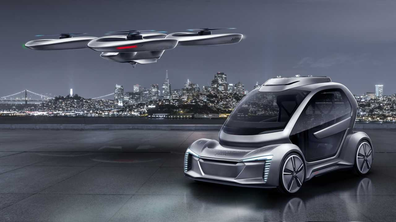 Flugauto von Airbus, Italdesign und Audi macht Fortschritte