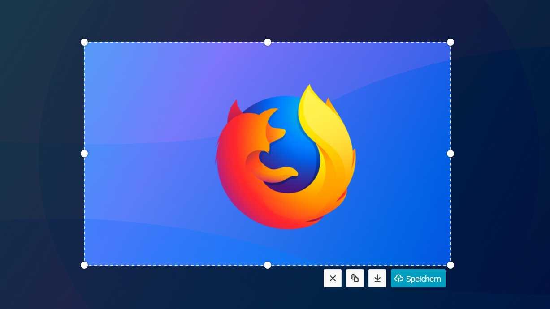 Firefox 59 mit verbessertem Screenshot-Tool