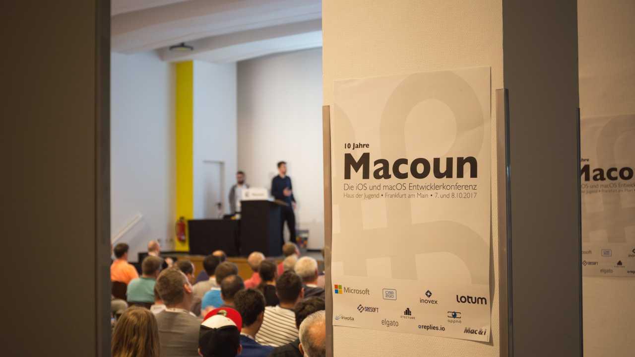 Auftakt für iOS- und macOS-Entwicklerkonferenz Macoun 2018