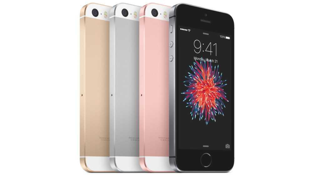 4 iPhone SE