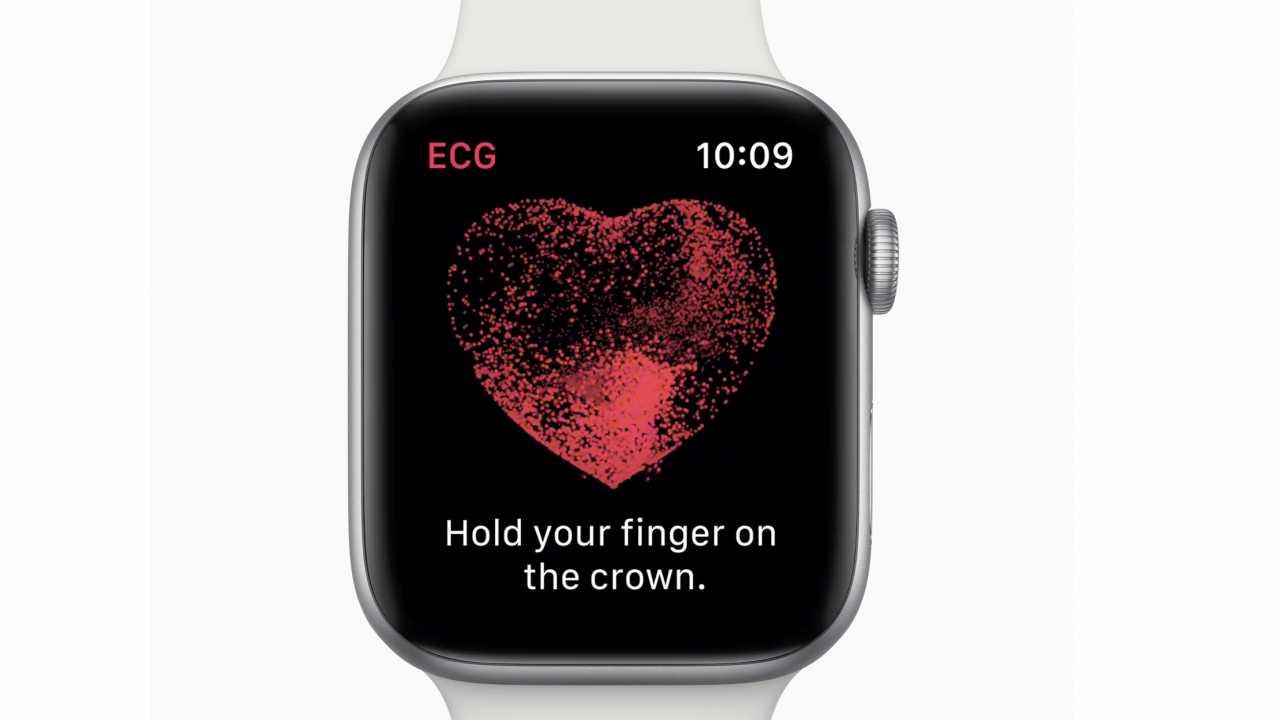 Apple Watch 4 mit EKG
