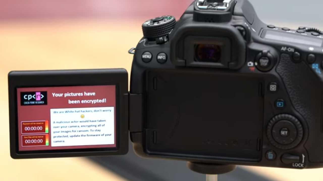 Ransomware befällt jetzt auch Spiegelreflexkameras von Canon – per WLAN