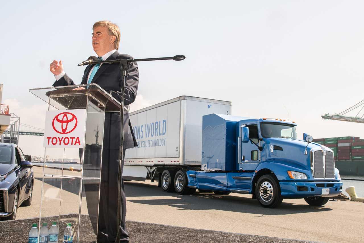 Project Portal: Toyotas Truck mit Brennstoffzellen-Antrieb