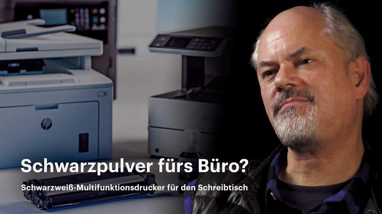 nachgehakt: Schwarzweiß-Drucker fürs Büro