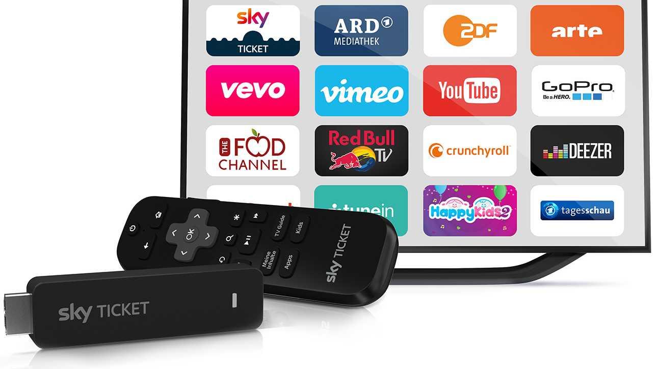 Sky Ticket Stick: Chromecast-Konkurrent für 30 Euro