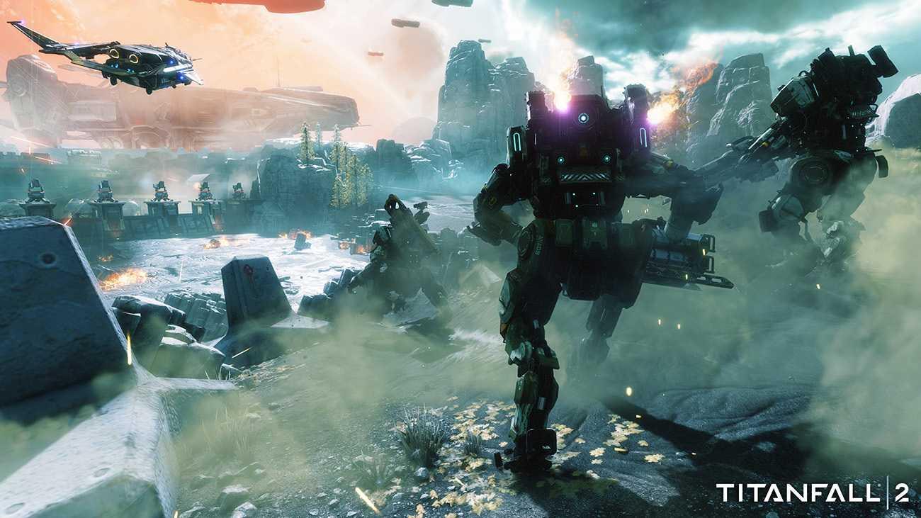 Titanfall 2: Ein Mechroboter hing am Glockenseil