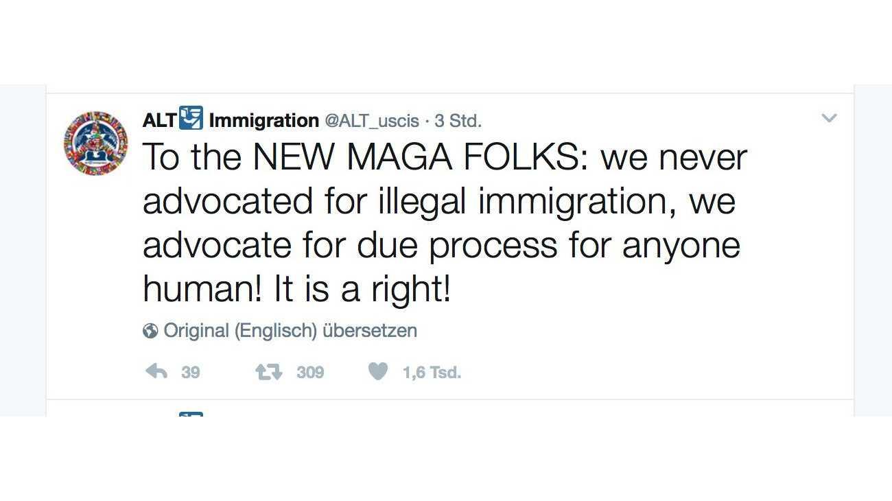 Kritik an Einwanderungspolitik: Twitter wehrt sich gegen Auskunftsanspruch der US-Regierung