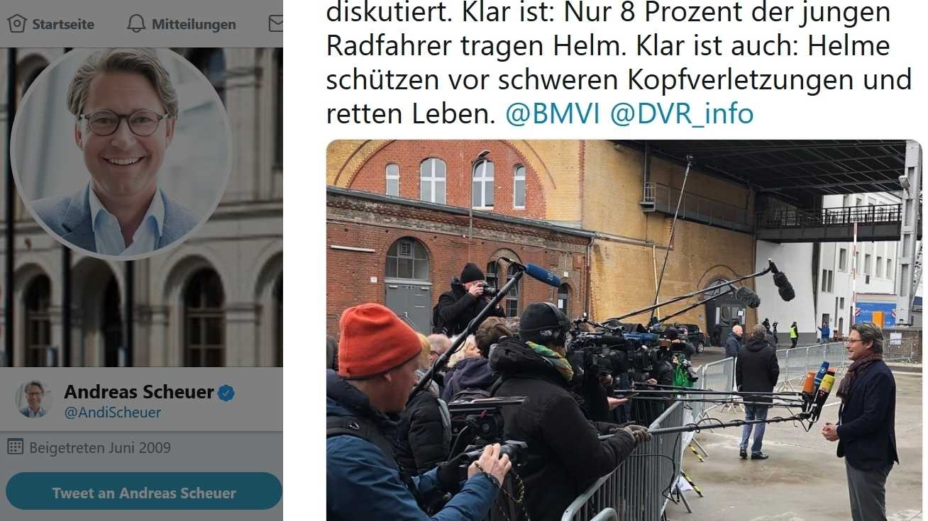 Journalistenverband moniert Minister-PR im Internet
