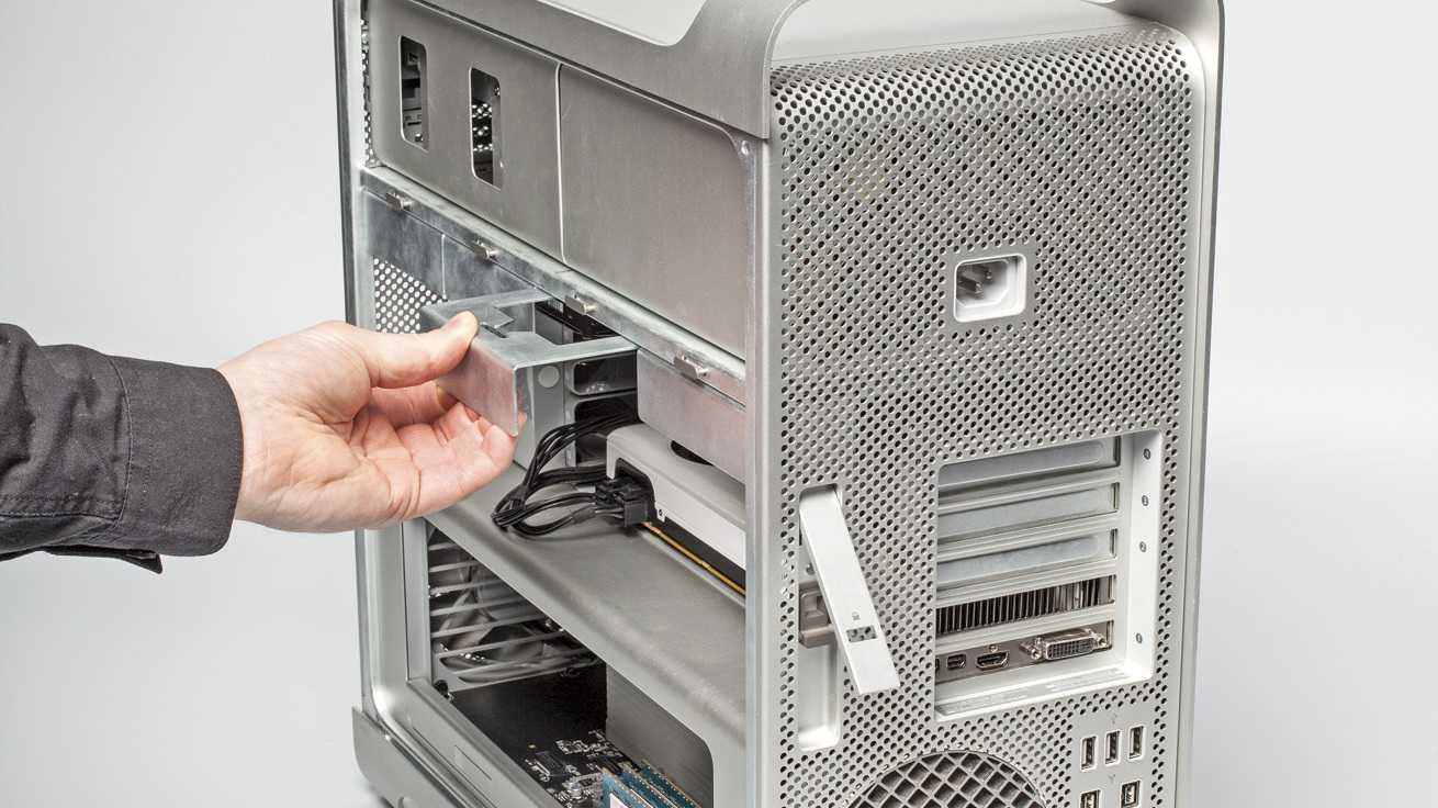 Der frühere Mac Pro im Towergehäuse ließ sich prima erweitern. Kehrt Apple jetzt zu einem ähnlichen Konzept zurück?