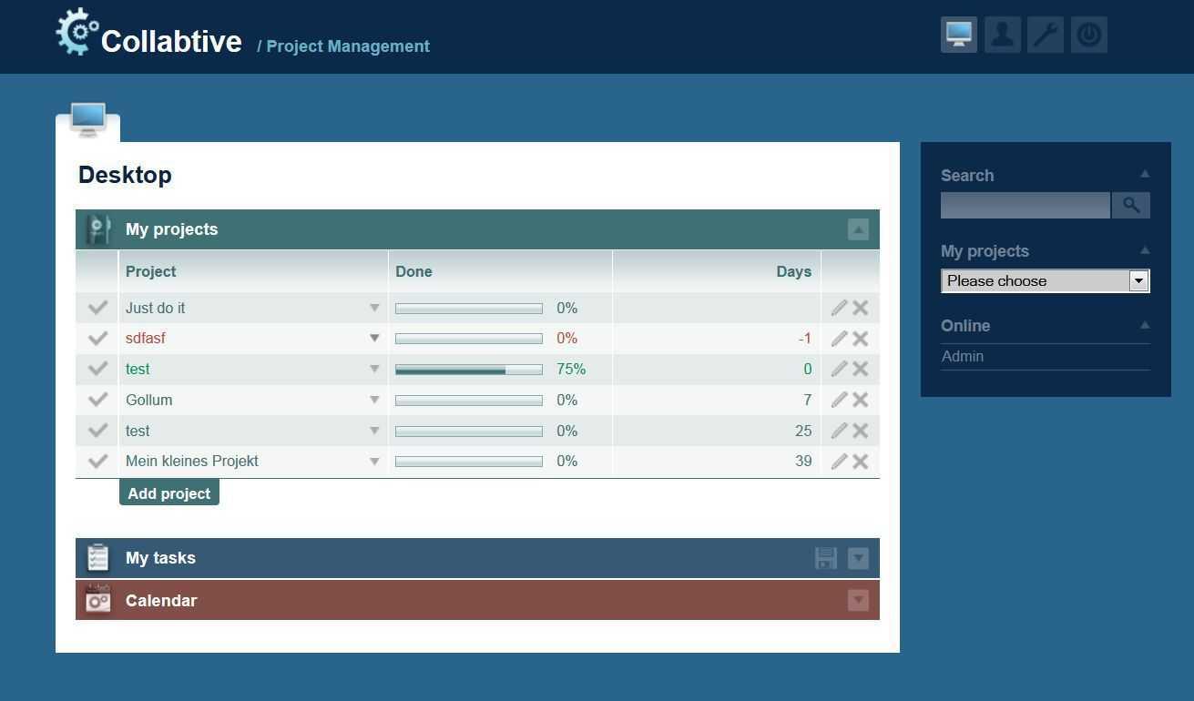 Projektmanagementsoftware Collabtive mit neuen Sicherheitsfunktionen
