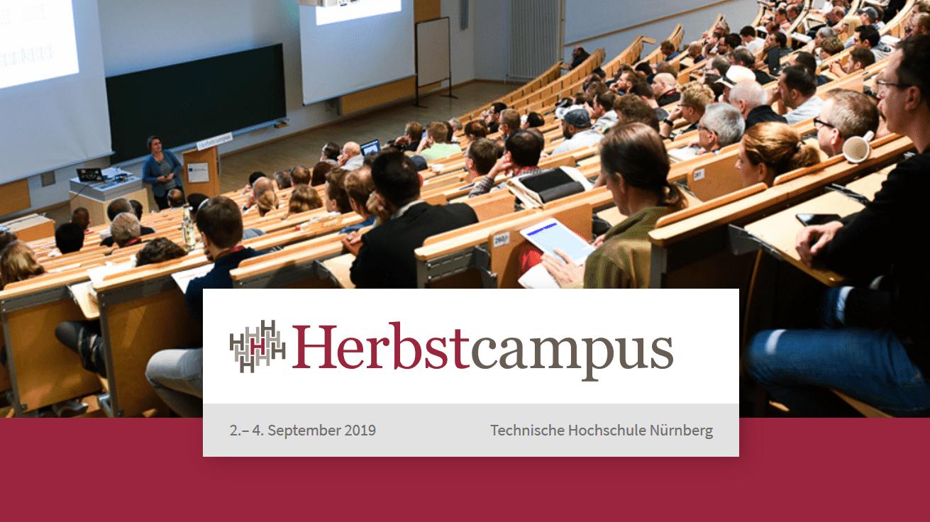 Programm online - jetzt für Herbstcampus 2019 registrieren