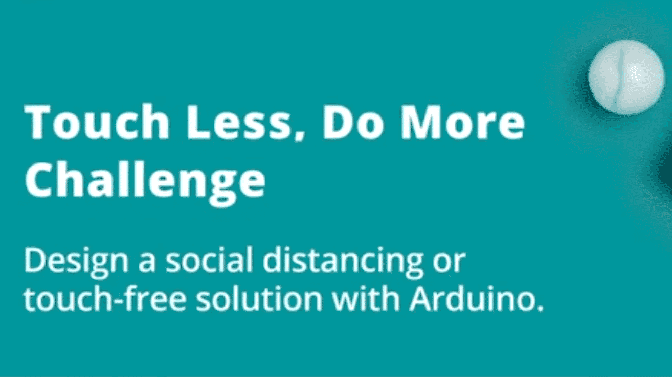 Touch less, do more - Wettbewerb mit Arduino