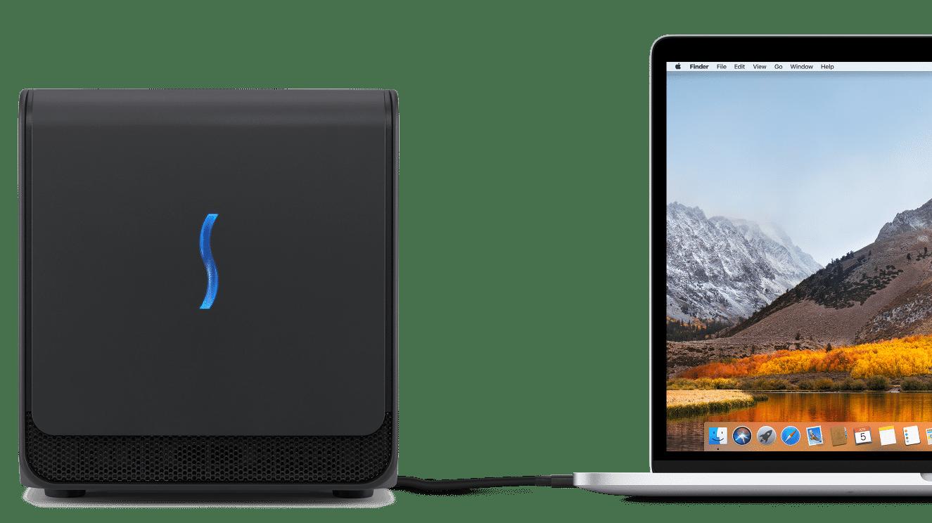 Apple verkauft eGPU-Kit an Entwickler, Valve liefert SteamVR-Beta