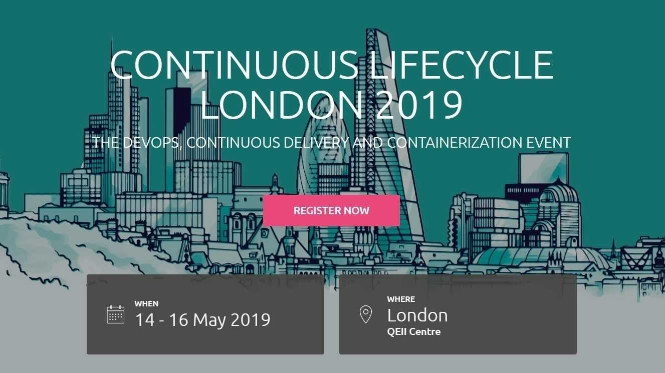 Continuous Lifecycle London: Erster Auszug des Programms ist online