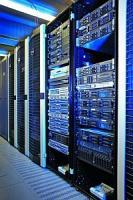 Server-Racks im Rechenzentrum