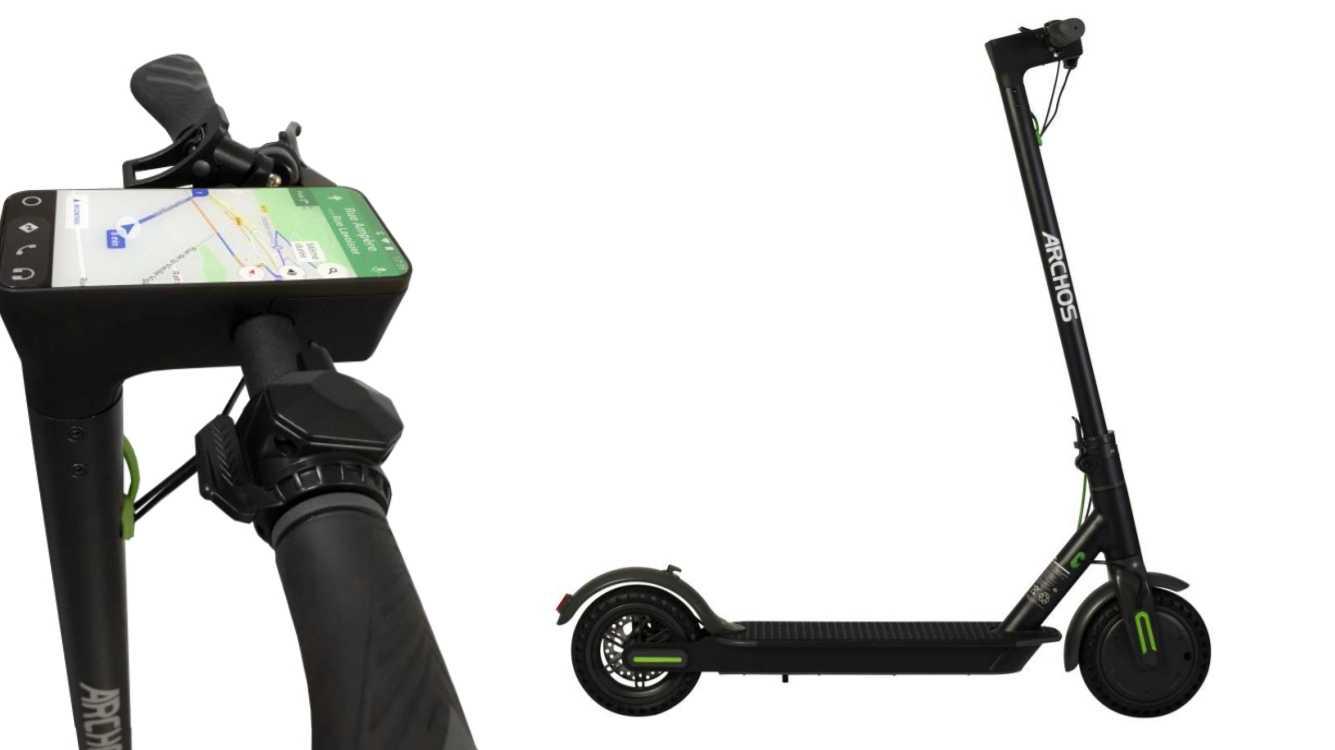 Elektroroller von Archos: City-Scooter mit Android 8