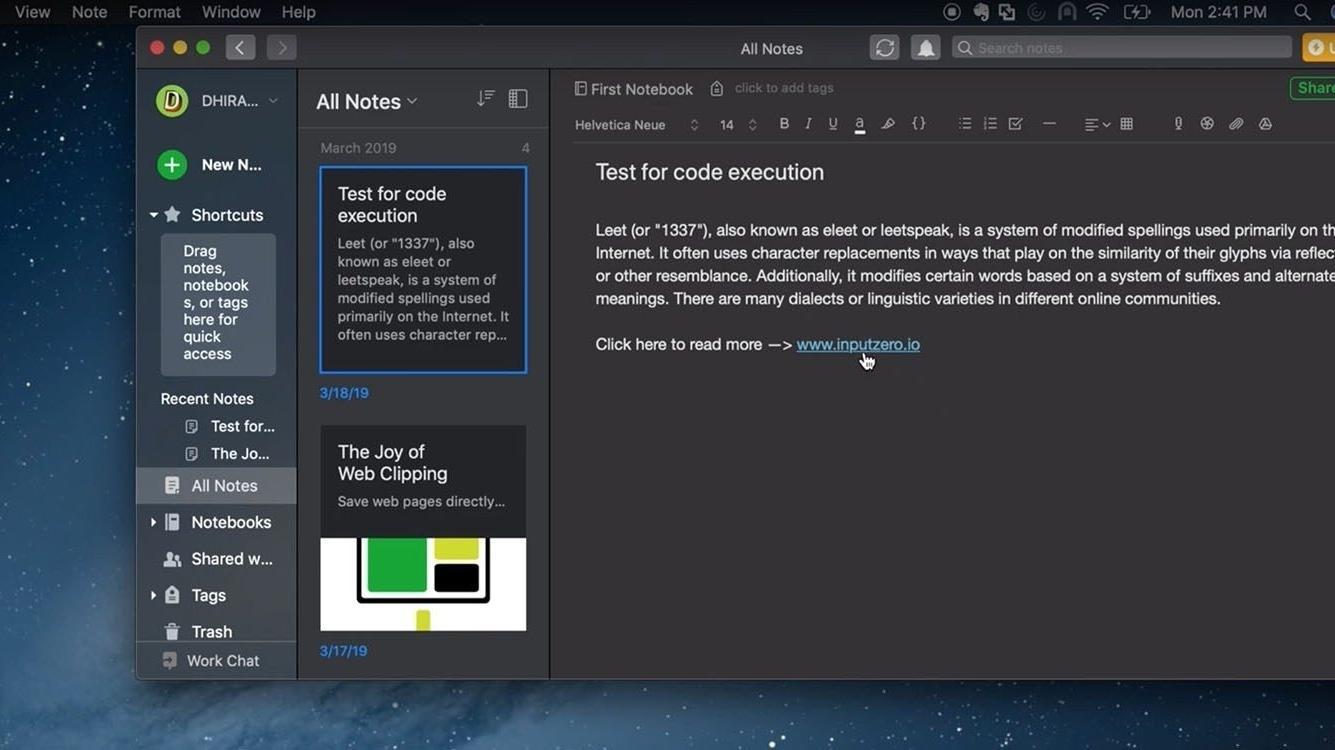 heise.de - Ben Schwan - Kritische Lücke in Mac-Version von Evernote