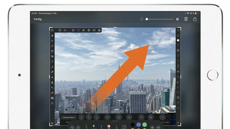 Tipp: iPad-Screenshot mit Apple Pencil machen