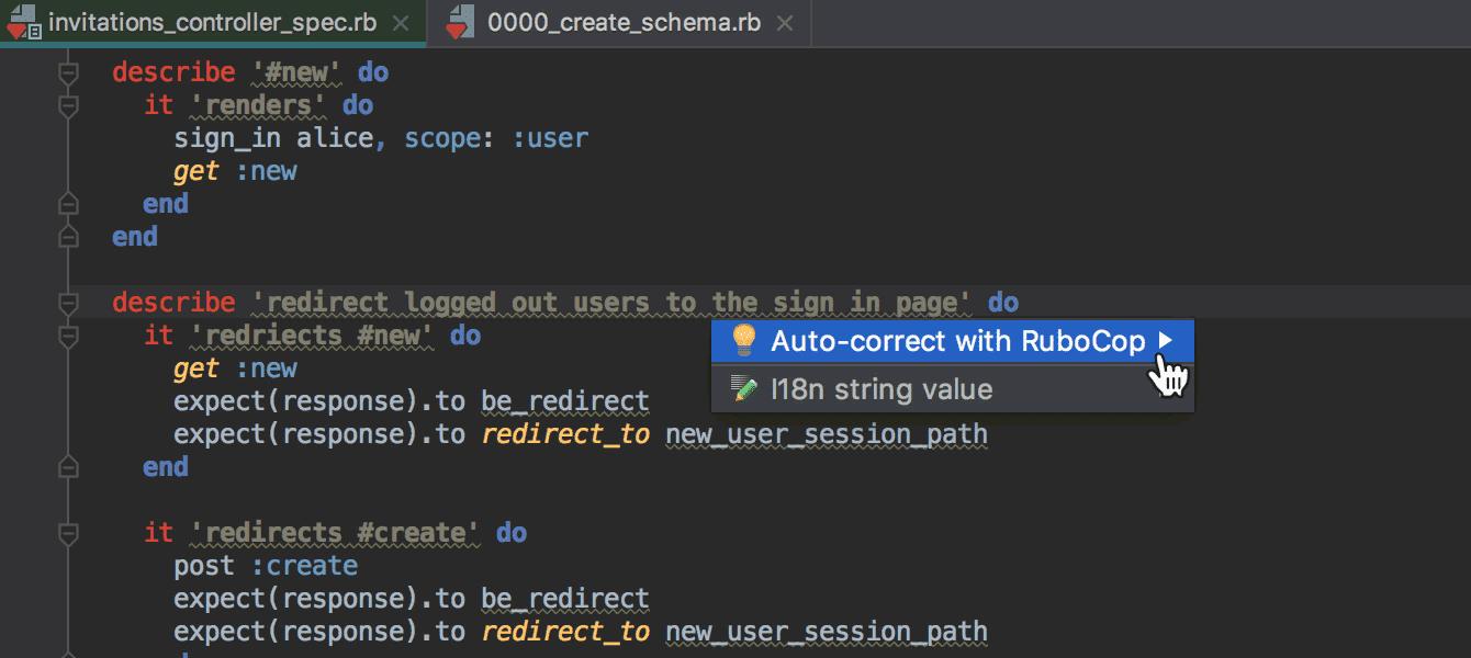Die von RuboCup gefundenen Code Smells lassen sich nun automatisch korrigieren.