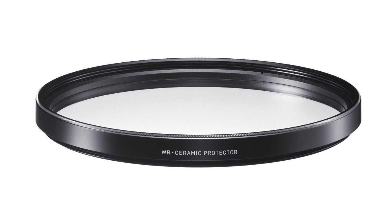Klarglas-Keramik-Schutzfilter von Sigma
