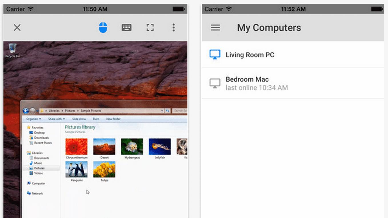 Chrome Remote Desktop erlaubt Fernsteuerung von Mac und PC mit iOS