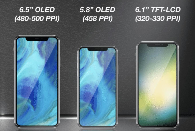 2018er iPhones