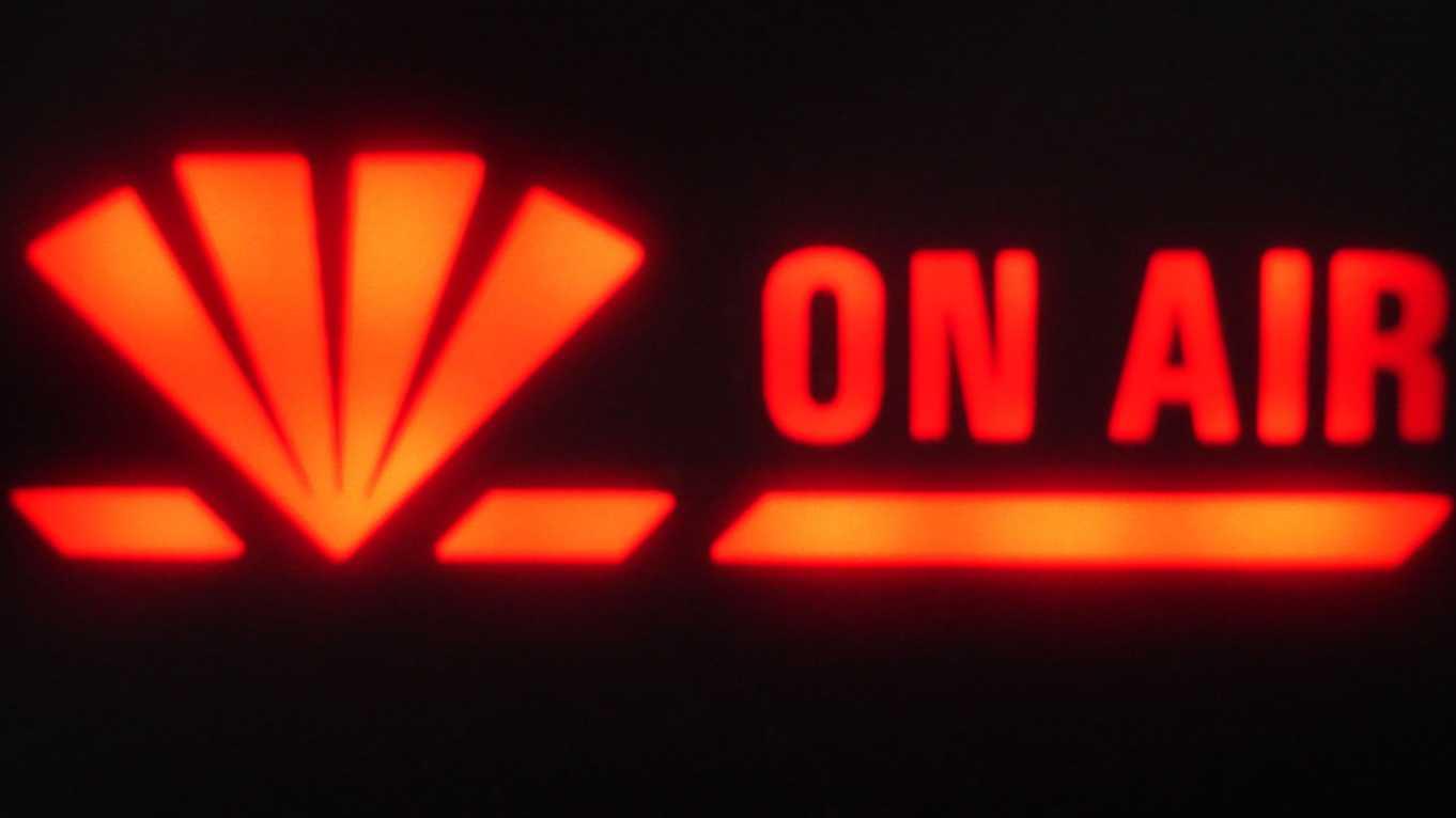 On Air, TV, Fernsehen, Radio