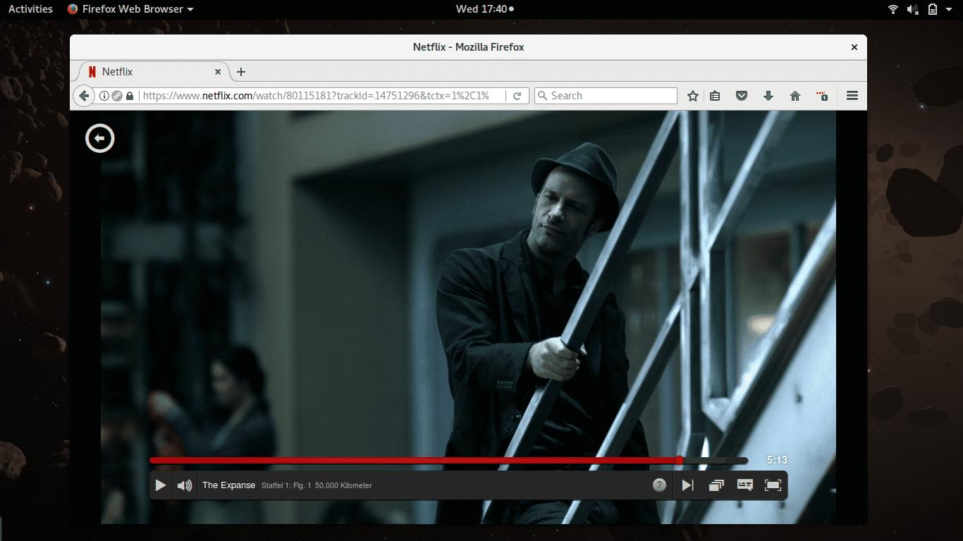 Netflix unterstützt jetzt Firefox unter Linux