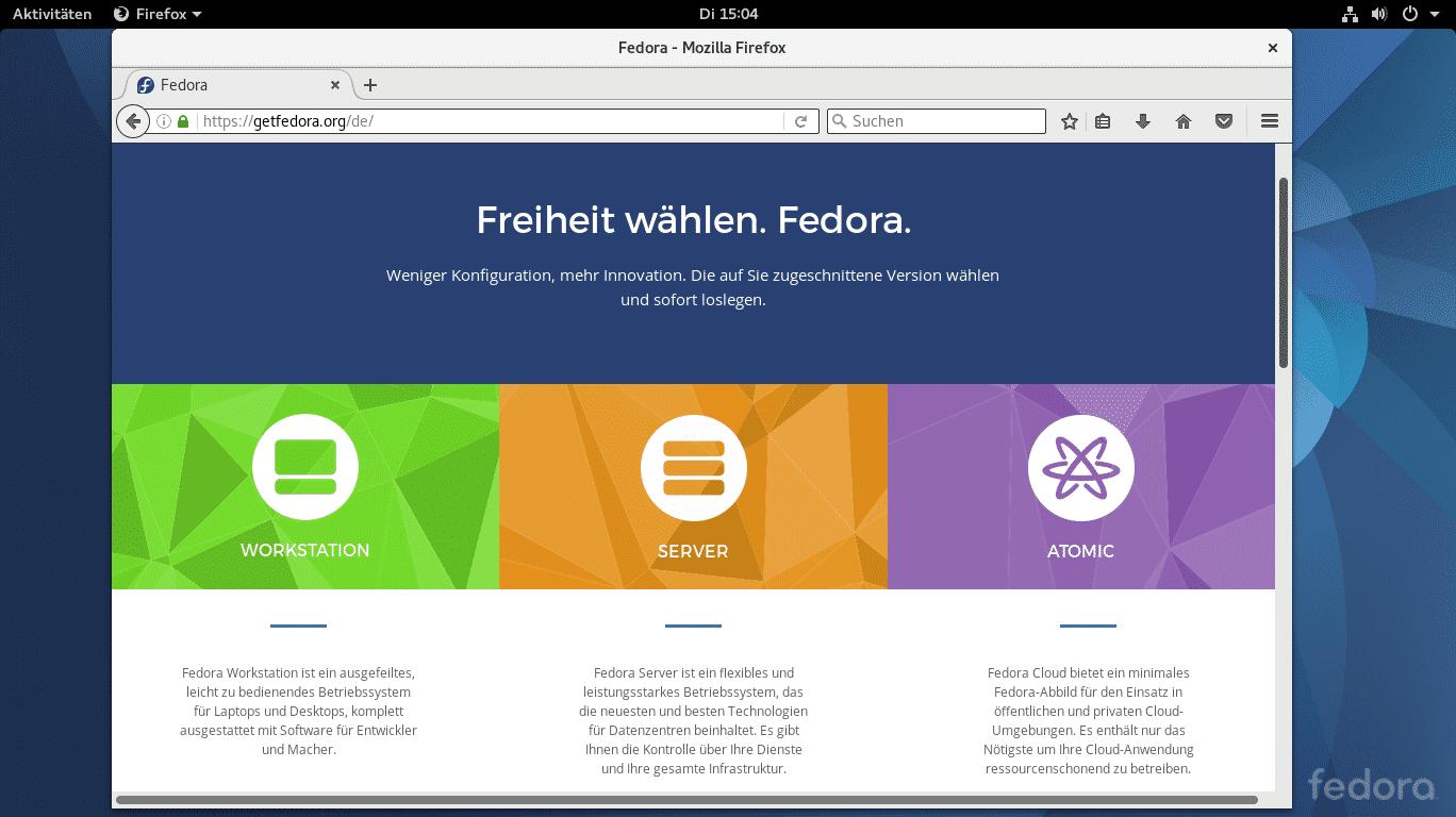 Fedora 25 freigegeben: Erste Linux-Distribution beginnt Wechsel auf Wayland