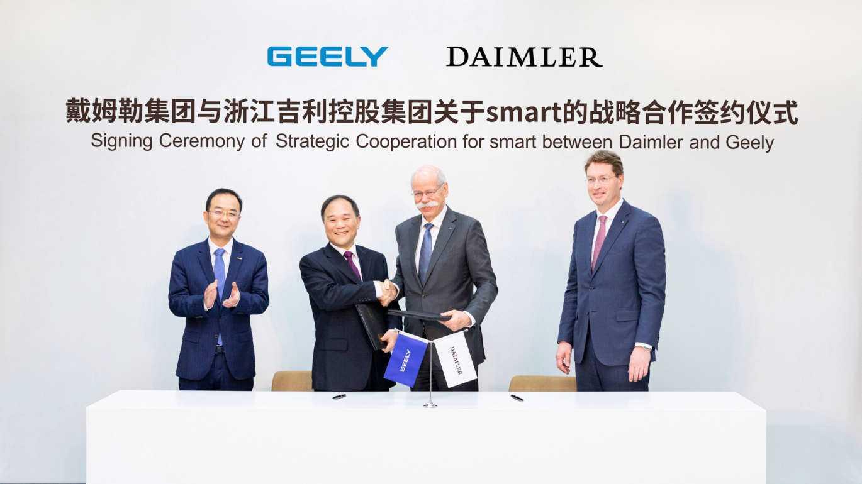 Elektroautos: Daimler und Chinesen machen Smart zum reinen E-Auto-Hersteller