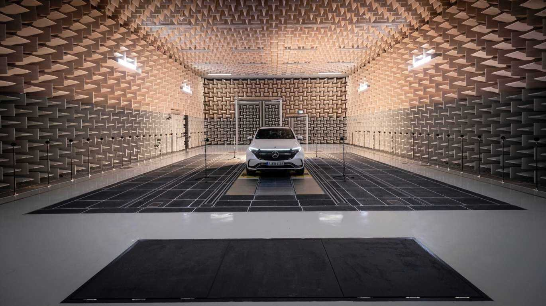 Daimler führt seine Geräusche für Elektroautos vor