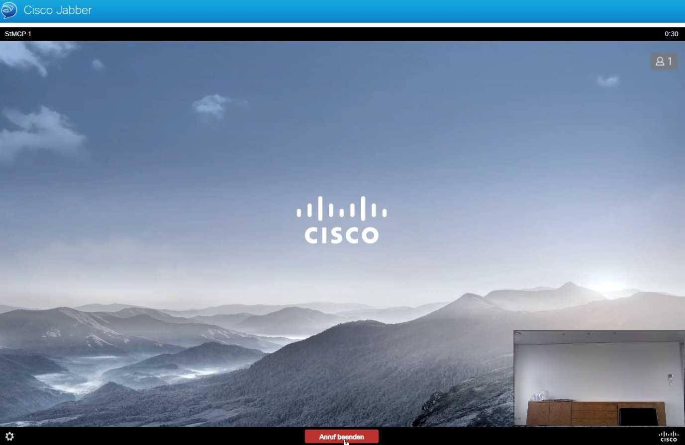 Das bayerische Innenministerium nutzt die Videokonferenz-Software Cisco Jabber.