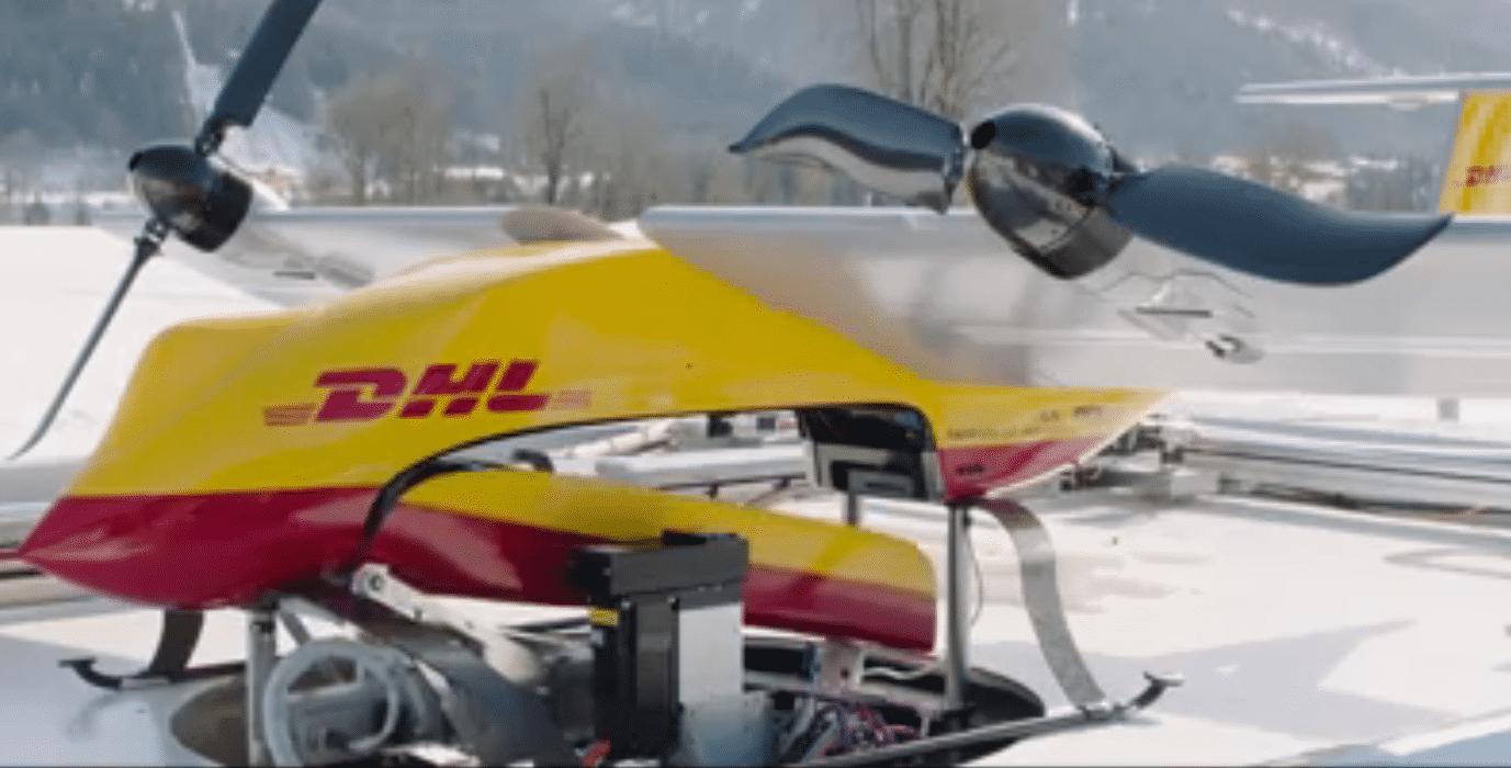 DHL meldet erfolgreiche Tests mit Paketdrohne