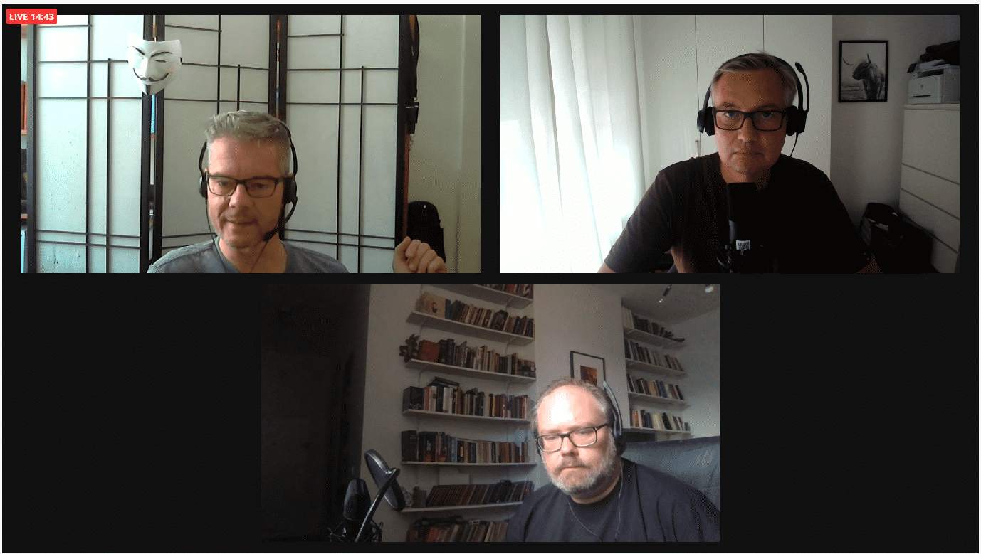 Auslegungssache 19: Podcast-Aufzeichnung