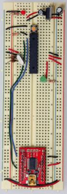 Arduino on a Breadboard