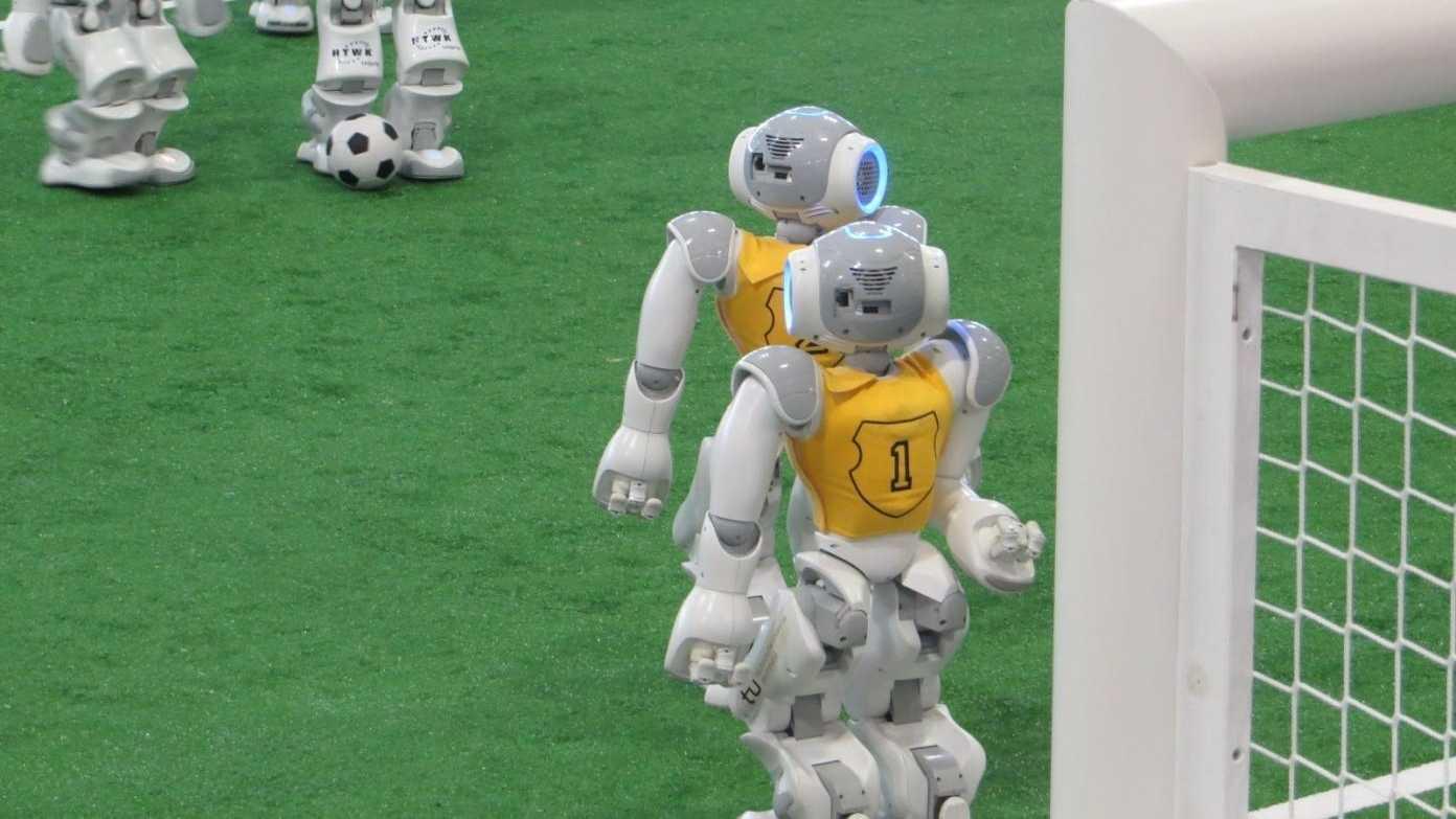 RoboCup 2018: Deutscher Meister rechnet sich Chancen aus