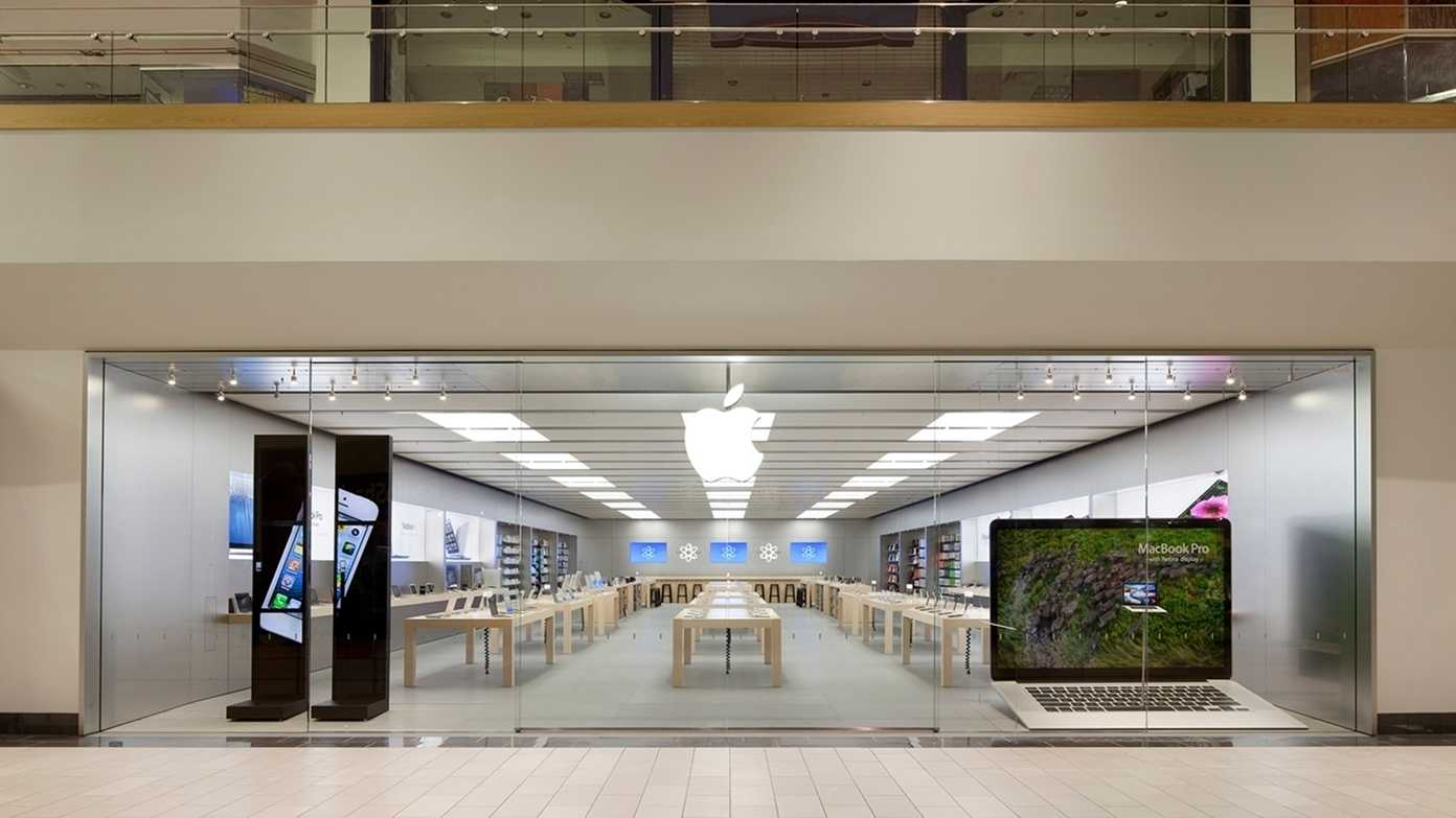 Überfallwelle in Apple-Läden