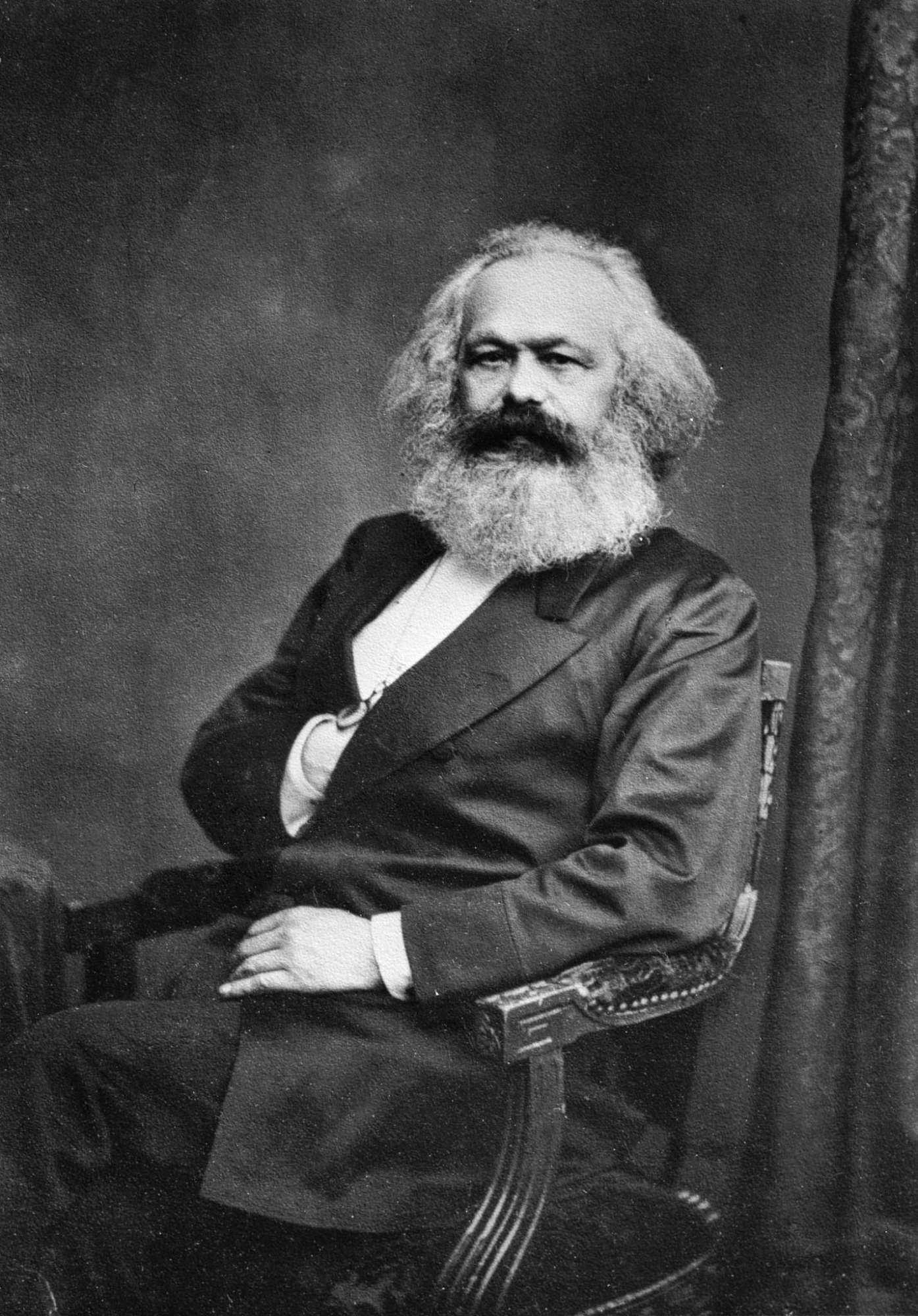Karl Marx (geb. 5. Mai 1818; gest. 14. März 1883)