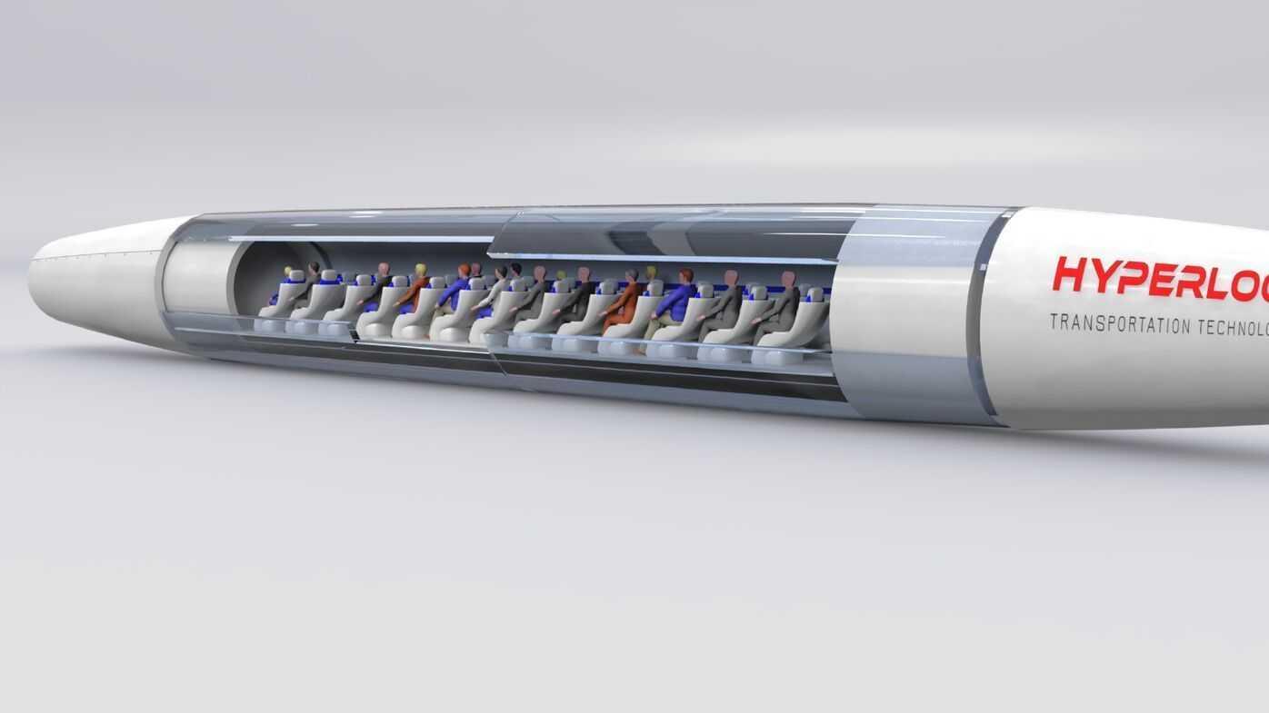 Hyperloop: HTT baut Kapsel für bis zu 40 Passagiere