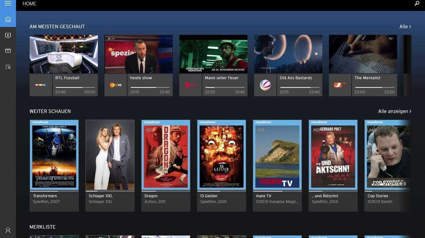 """Unitymedia: """"Horizon Go""""-App für Windows 10 auf PC und Tablets"""