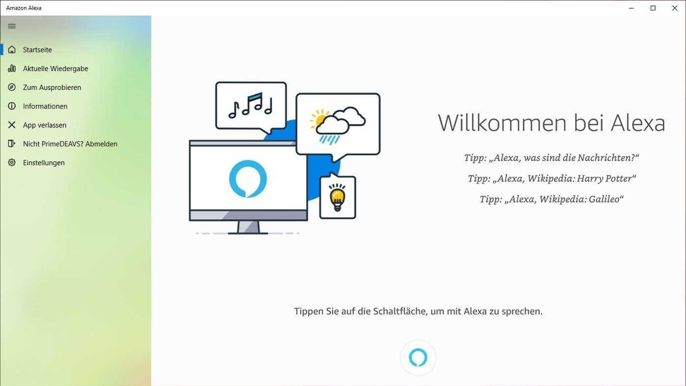 Die neue Alexa-App für Windows 10 gibt es kostenlos im Microsoft Store.