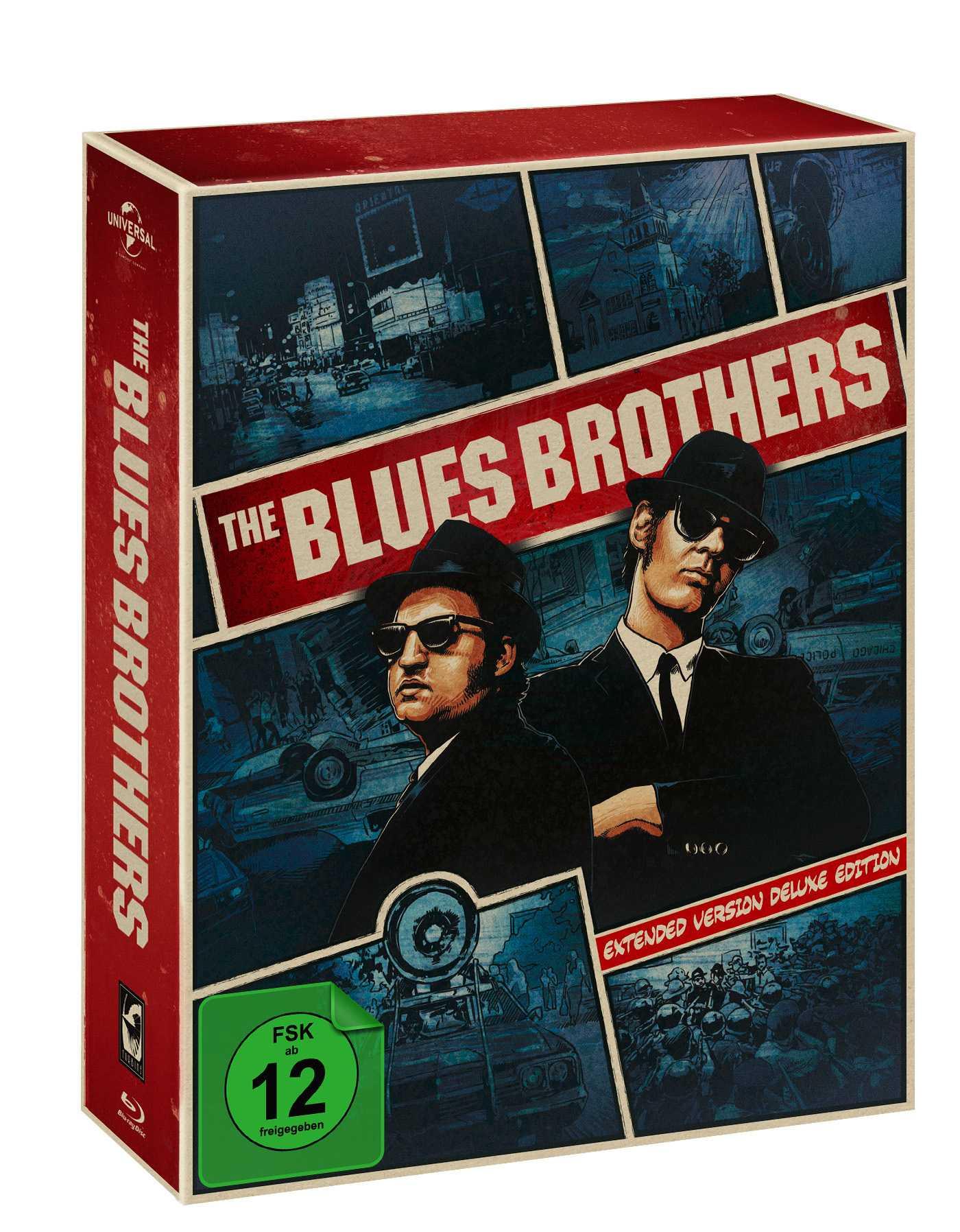 """""""The Blues Brothers"""" erscheint hierzulande in der """"Extended Version Deluxe Edition"""" mit deutschen Dolby-Atmos-Ton."""