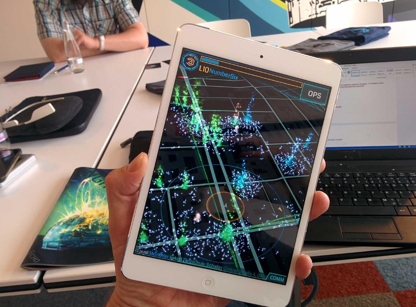 Ingress kann man ab sofort auch mit Apple-Mobilgeräten spielen.